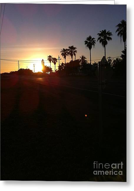 Florida Sunrise Greeting Card by Richard Chapman