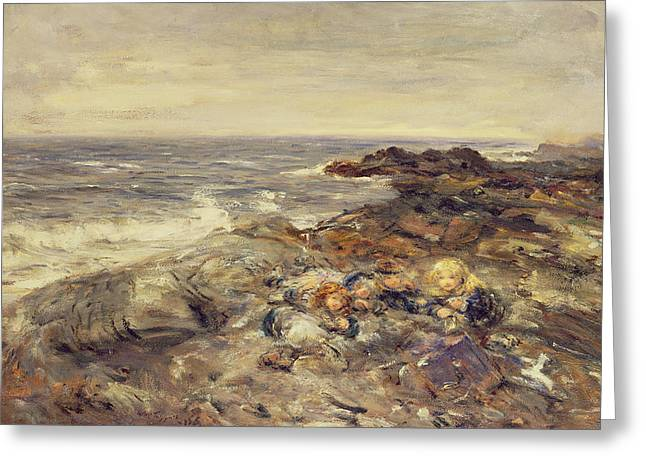 Flotsam And Jetsam Greeting Card by William McTaggart