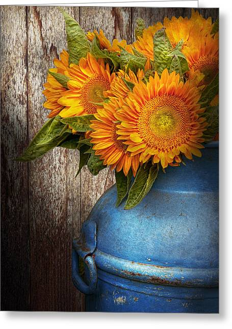 Flower - Sunflower - Country Sunshine Greeting Card