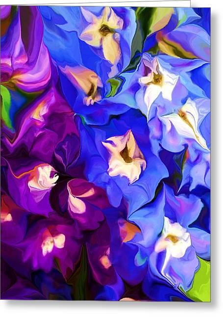 Flower Arrangement 012812 Greeting Card