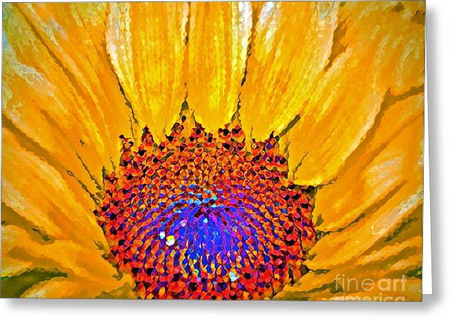 Flower Child - Flower Power Greeting Card