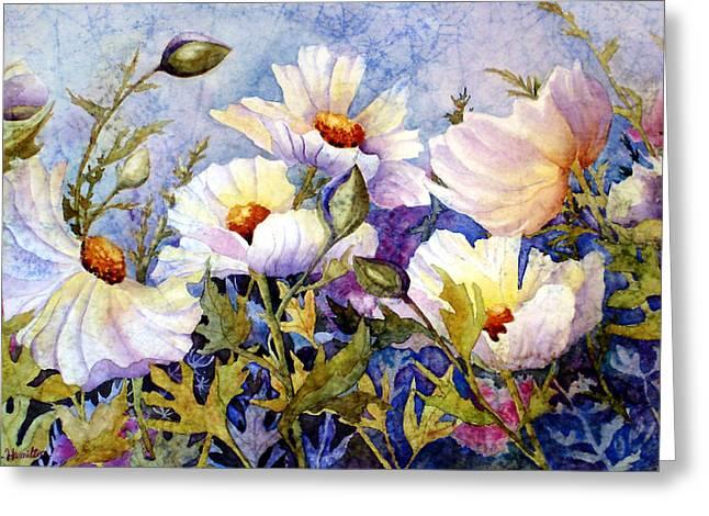 Flower Fantasy Greeting Card by Daydre Hamilton