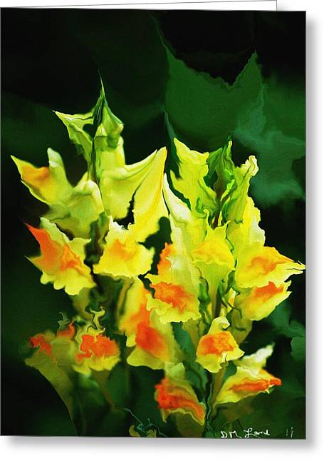 Flower Job 120111 Greeting Card