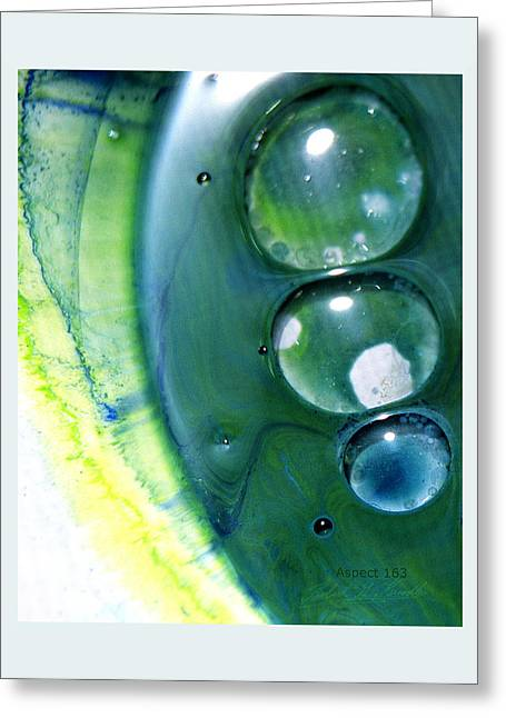 Fluidism Aspect 163 Frame Greeting Card by Robert Kernodle