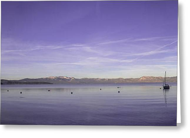 Fog In The Distance Greeting Card by Brad Scott