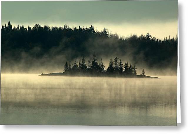Fog Island Greeting Card