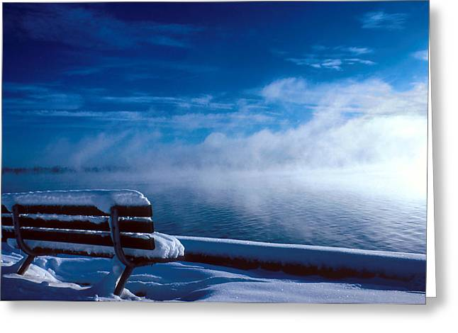 Fog Of Winter Greeting Card