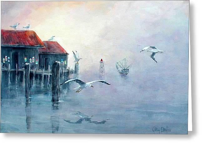 Foggy Cove Greeting Card