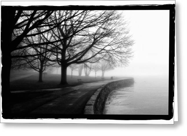 Foggy Day H-1 Greeting Card by Mauro Celotti