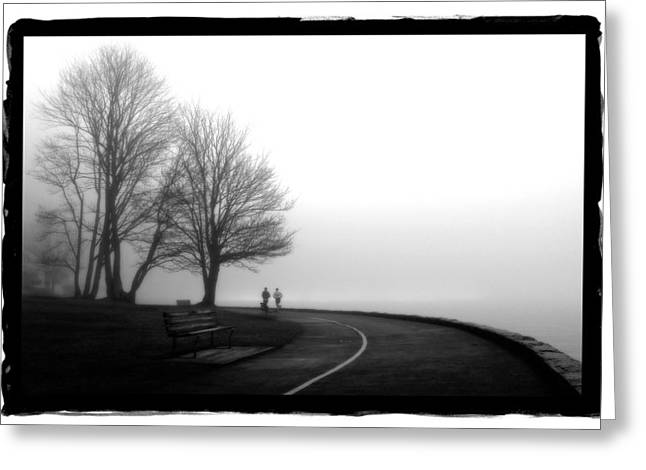 Foggy Day H-2 Greeting Card by Mauro Celotti