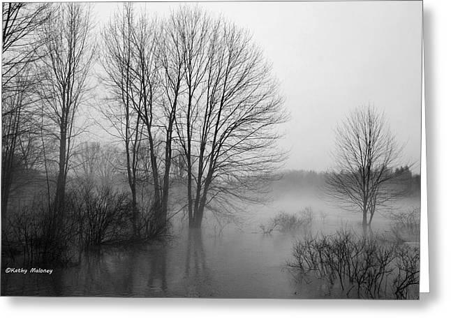 Foggy Day Greeting Card