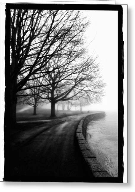 Foggy Day V-5 Greeting Card by Mauro Celotti