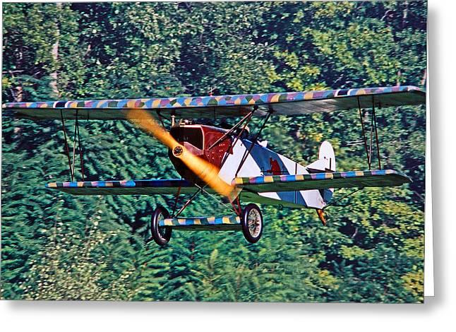 Fokker Dvii 02 Greeting Card by Jeff Stallard