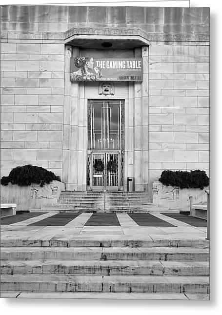 Folger Theatre I Greeting Card by Steven Ainsworth