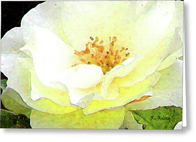 Greeting Card featuring the photograph For You My Love by Roena King