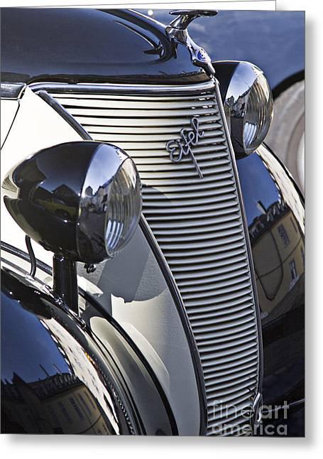 Ford Eifel Cabrio 1939 Classic Car Greeting Card by Heiko Koehrer-Wagner