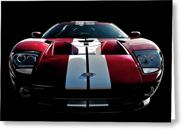 Ford Gt Greeting Card by Douglas Pittman