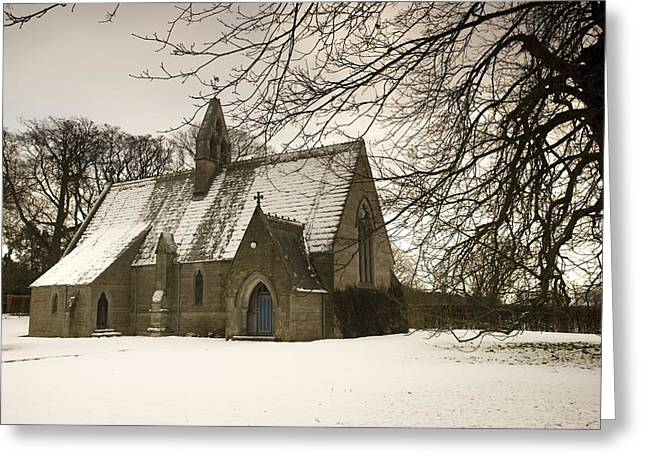 Ford, Northumberland, England Country Greeting Card by John Short