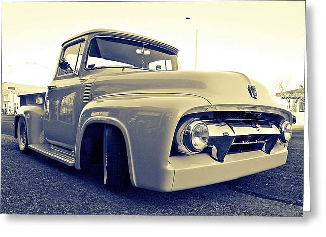 Ford Nostalgia Greeting Card by Vorona Photography
