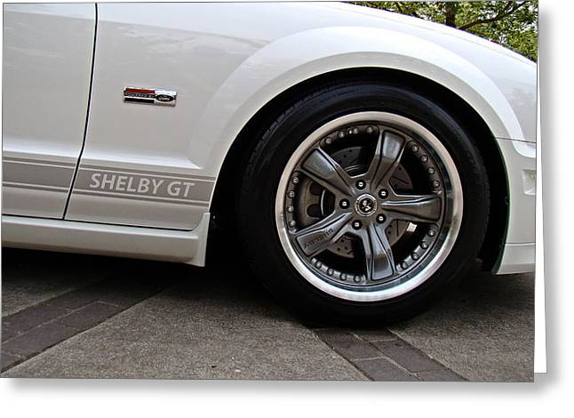 Ford Shelby Gt Greeting Card by Nick Kloepping