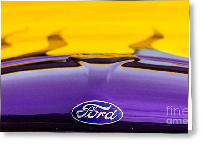 Ford Truck Greeting Card by Ursula Lawrence