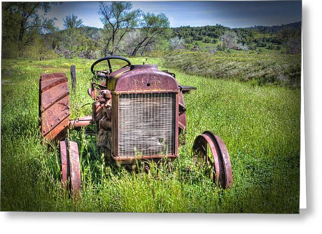 Fordson 1920 Tractor Greeting Card