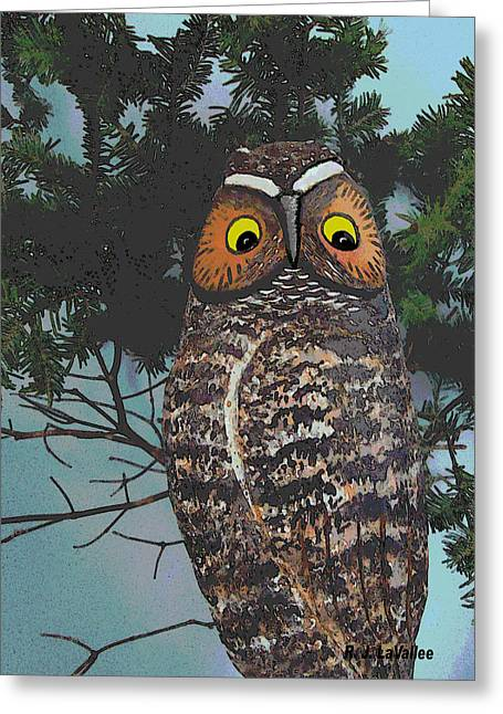 Forest Owl Greeting Card