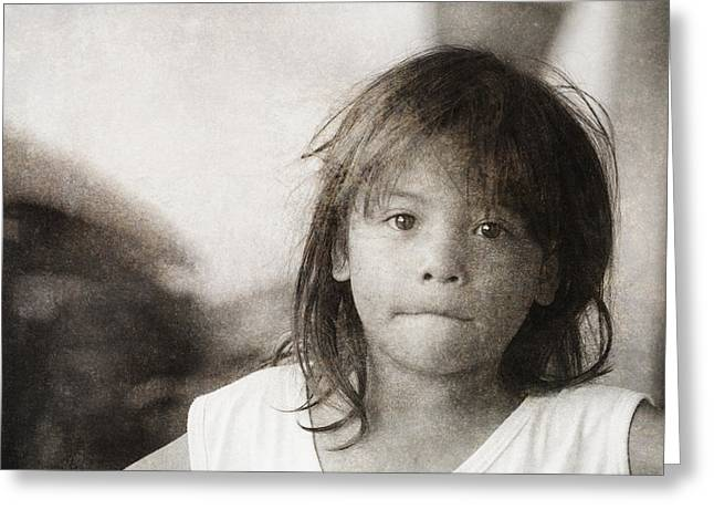 Forgotten Faces 10 Greeting Card by Skip Nall