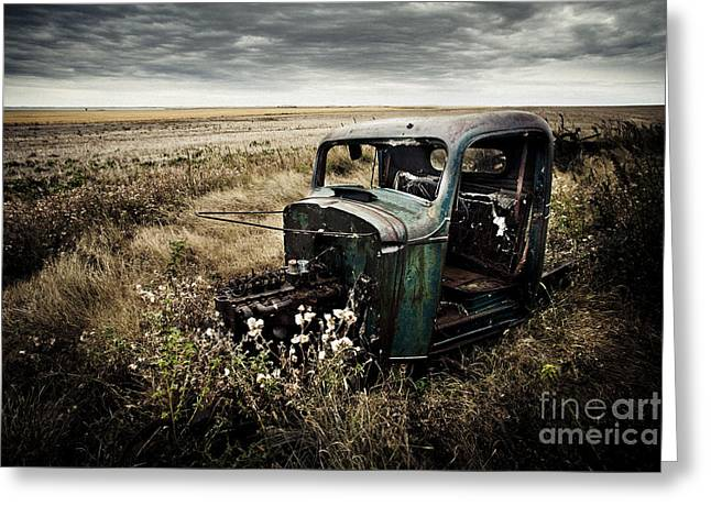 Forgotten Ford Greeting Card
