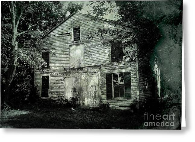 Forgotten Past Greeting Card by Colleen Kammerer