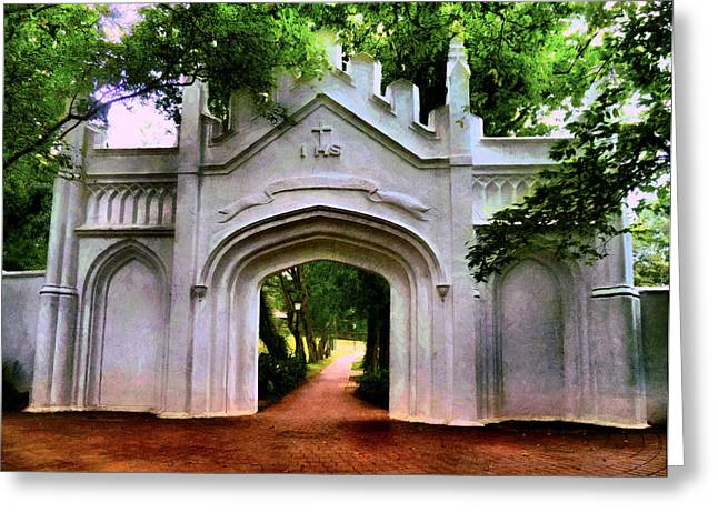 Fort Canning Park Greeting Card by Steve Taylor