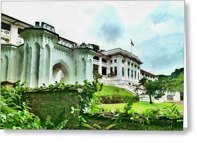 Fort Canning Park Visitor Centre Greeting Card by Steve Taylor