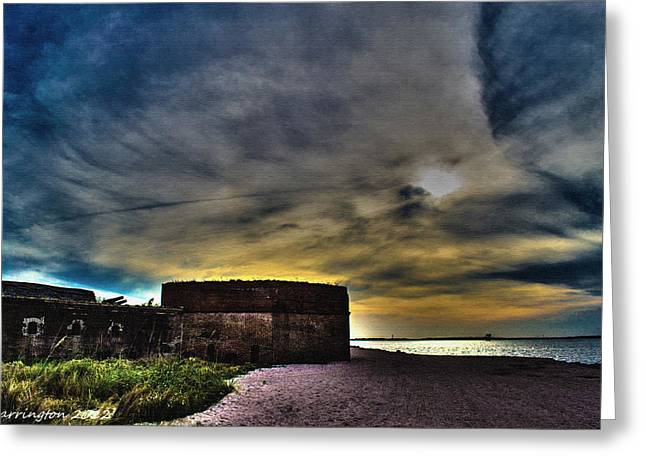 Fort Clinch Greeting Card