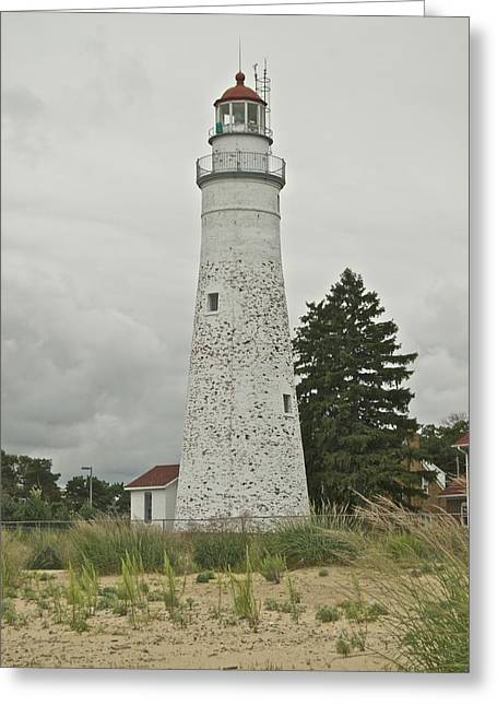 Fort Gratiot Lighthouse Greeting Card by Michael Peychich