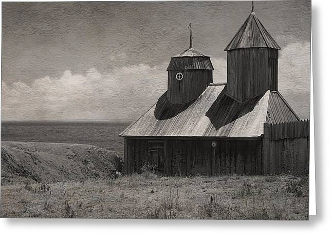 Fort Ross Seashore Greeting Card by Julie Magers Soulen