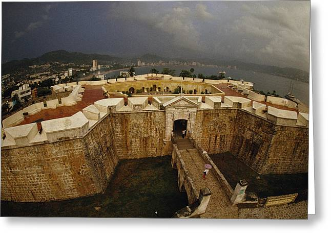 Fort San Diego Warded Off Pirates Greeting Card by Sisse Brimberg