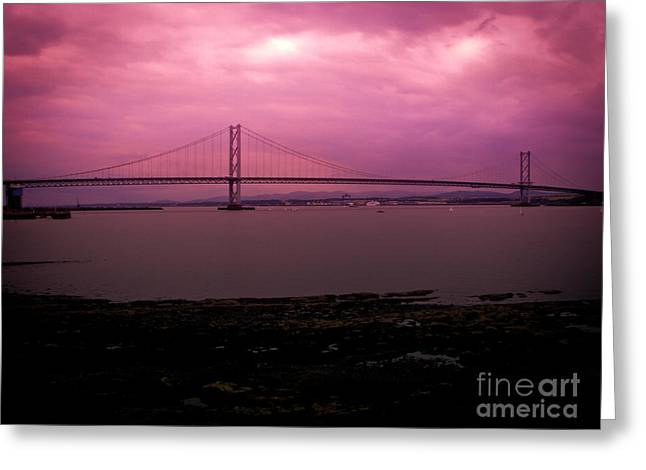 Forth Road Bridge Greeting Card