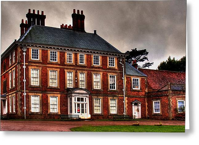 Greeting Card featuring the photograph Forty Hall by David Harding