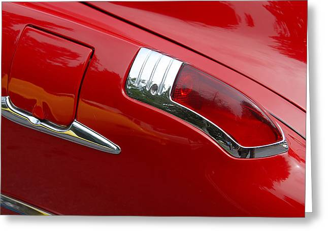 Greeting Card featuring the photograph Fortynine Buick by John Schneider