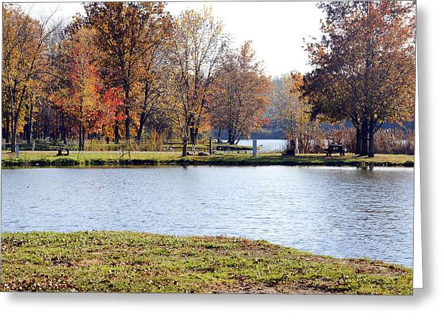 Fowler Lake 3 Greeting Card by Franklin Conour