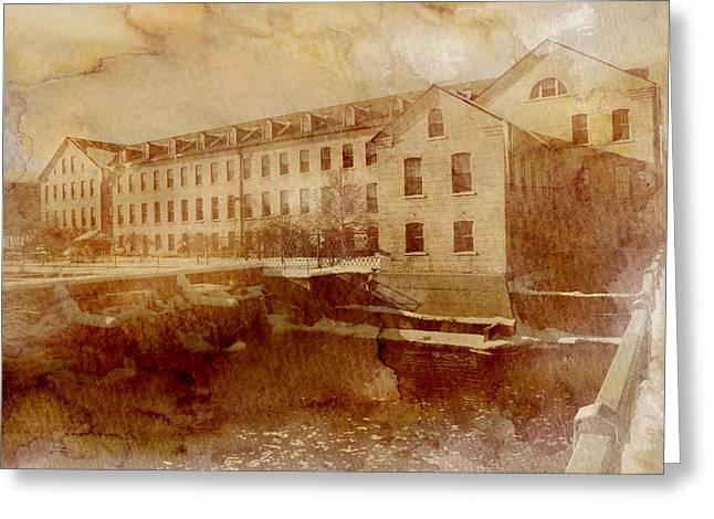 Fox River Mills Greeting Card by Joel Witmeyer