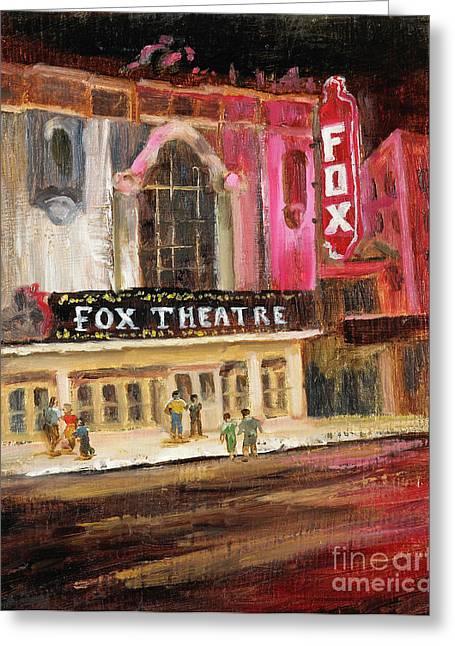 Fox Theatre Greeting Card