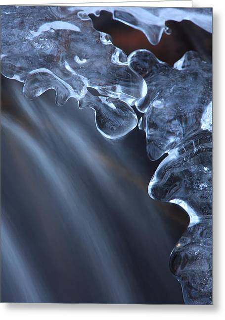 Fragile Ice Formation Greeting Card by Ulrich Kunst And Bettina Scheidulin