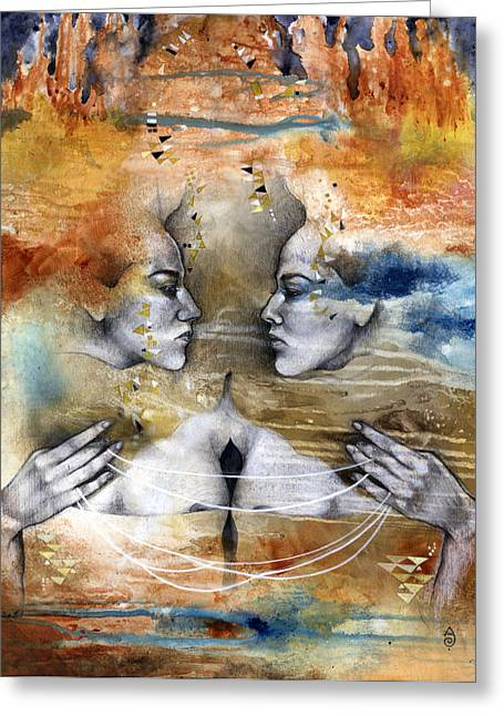 Fragmented Greeting Card by Patricia Ariel