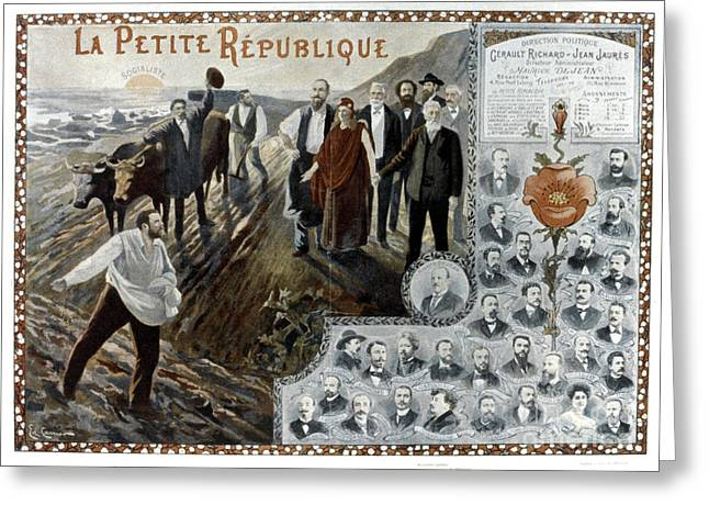 France: Socialism, 1900 Greeting Card by Granger