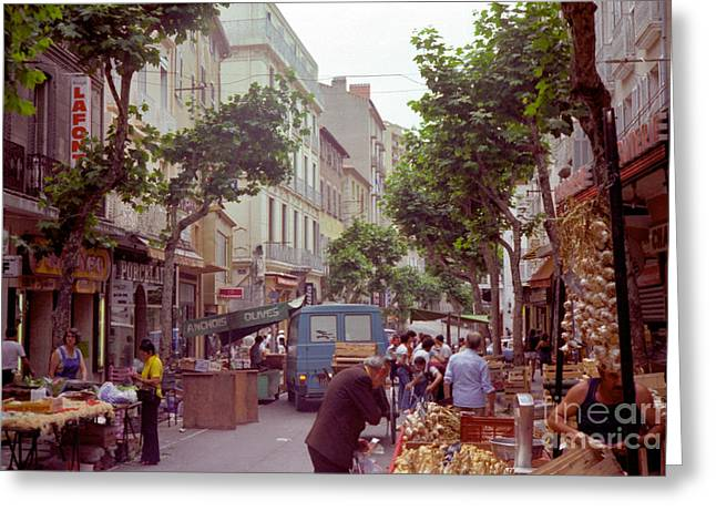 France Spring Of 1981 Greeting Card by Thomas R Fletcher