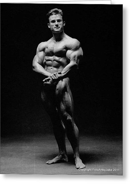 Francis Benfatto Muscle In Shadows Greeting Card