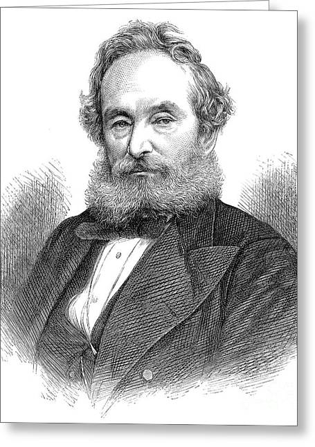 Francis Pettit Smith Greeting Card by Granger