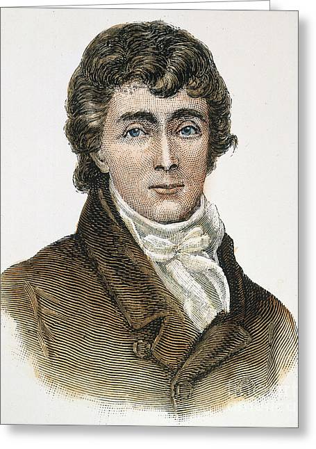Francis Scott Key (1779-1843) Greeting Card by Granger