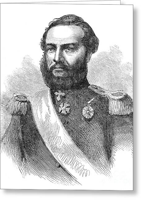 Francisco Solano Lopez Greeting Card by Granger